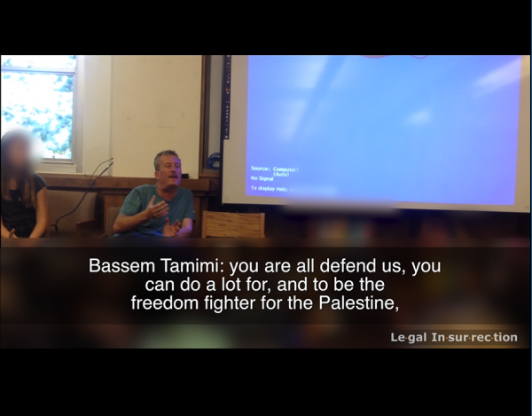 Bassem Tamimi indoctrinating 3rd graders